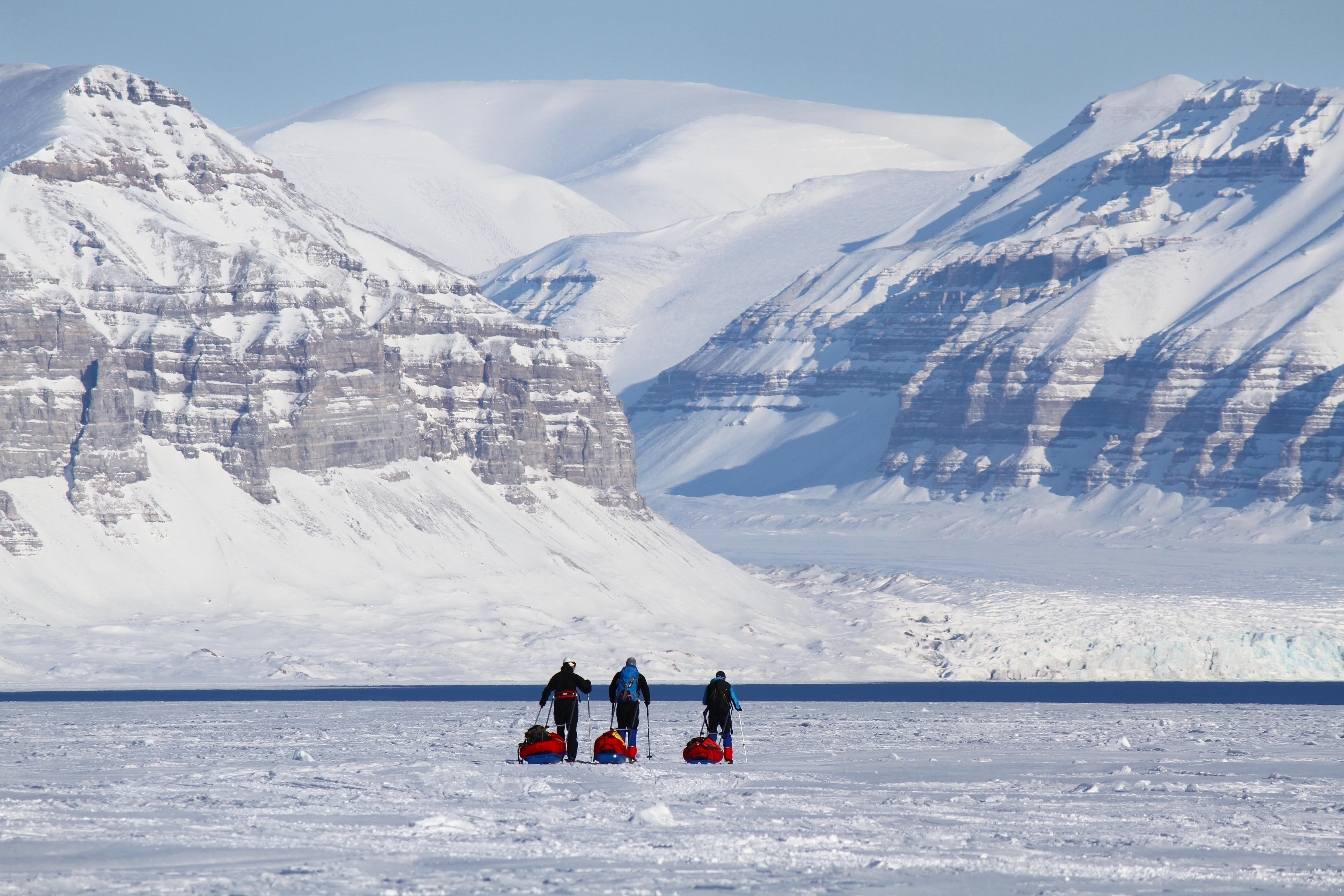 Amazing experiences in Svalbard