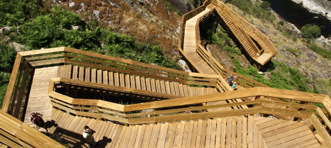The Paiva River boardwalk (Portugal)