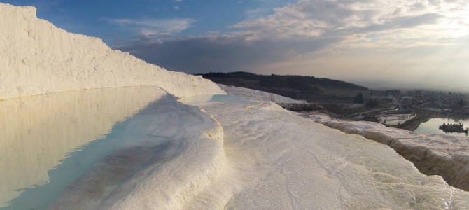 Visit the Pamukkale terraces | Turkey